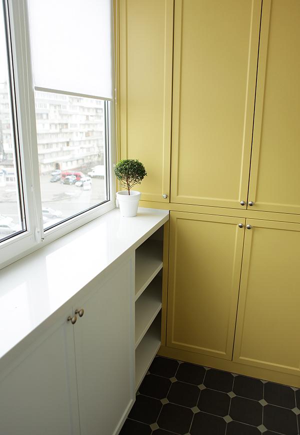 Бюджетна квартира в яскравих кольорах